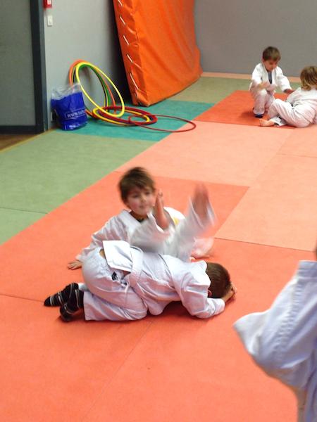 Cours d'éveil judo